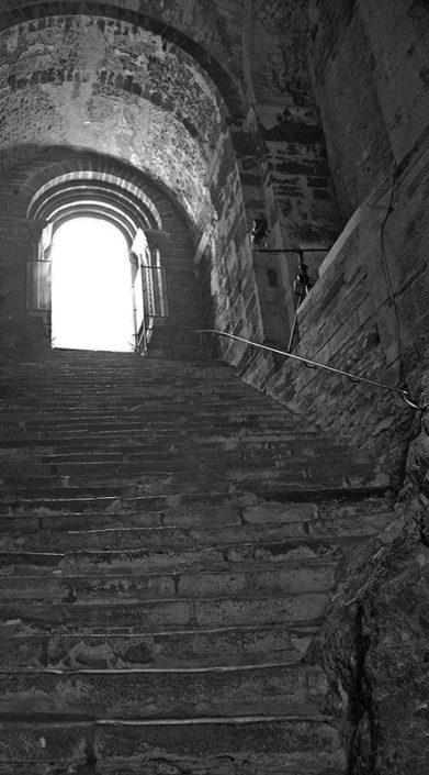 Scala dei morti - Sacra di San Michele - Sergio Chiesa
